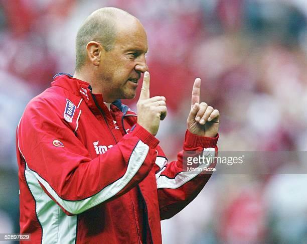 Qualifikation 2003 Kopenhagen Daenemark Norwegen 10 Trainer Nils Johan SEMB/NOR
