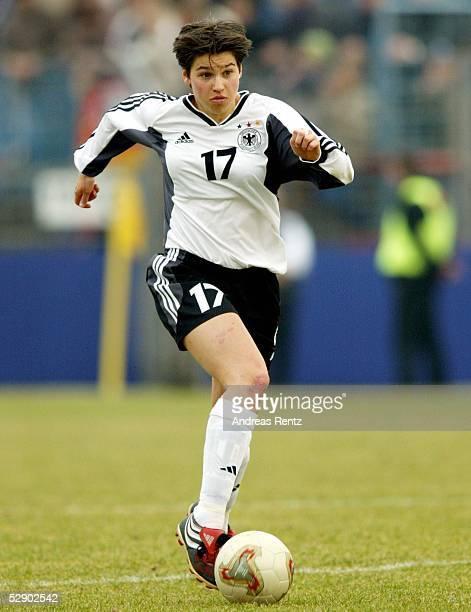 Qualifikation 2003 Potsdam Deutschland Schottland 50 Ariane HINGST/ GER