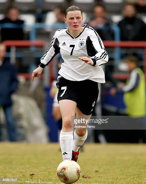 Qualifikation 2003 Potsdam Deutschland Schottland 50 Pia WUNDERLICH/ GER