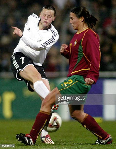 Qualifikation 2003 Reutlingen Deutschland Portugal 130 Pia WUNDERLICH/GER Carla MONTEIRO/POR