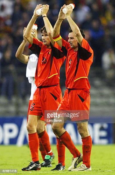 Qualifikation 2004 Bruessel Belgien Kroatien 21 Sandy MARTENS Bart GOOR/BEL