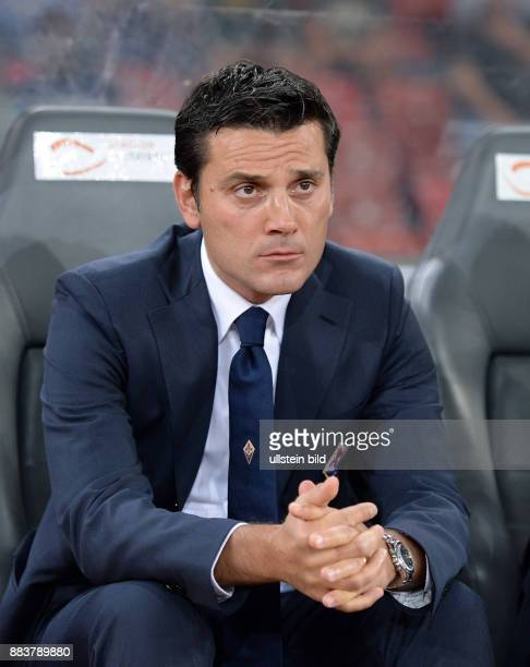 FUSSBALL INTERNATIONAL UEFA Qualifikation Grasshopper Club Zuerich AC Florenz Trainer Vincenzo Montella