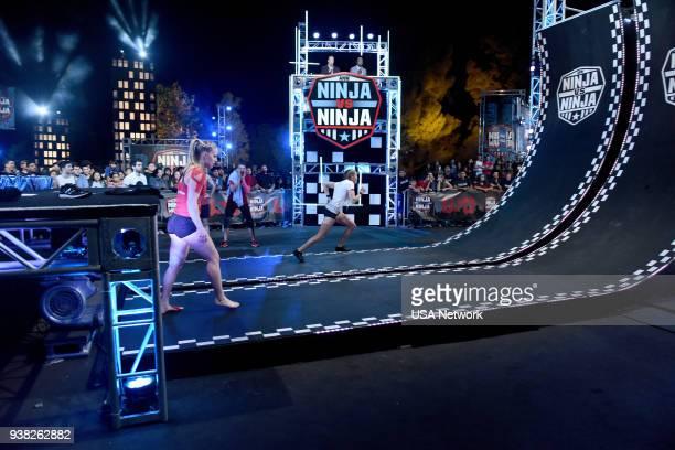 NINJA 'Qualifying Episode 4' Episode 304 Pictured Anna Shumaker Brian Kretsch Bree Widener