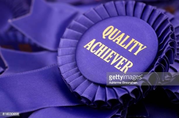Quality Achiever Award Ribbon