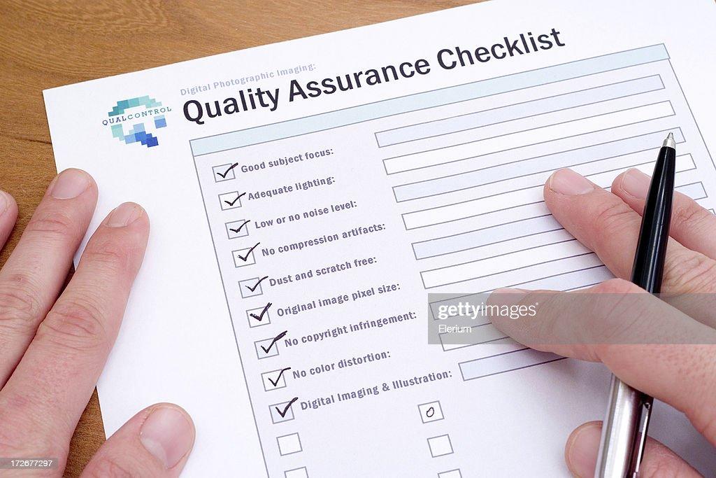 Quality Control [500,000th iStock Upload!] : Stock Photo