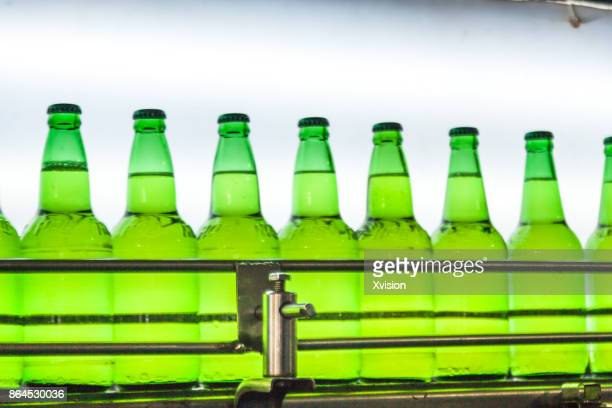 Quality control of beer by pass through light source