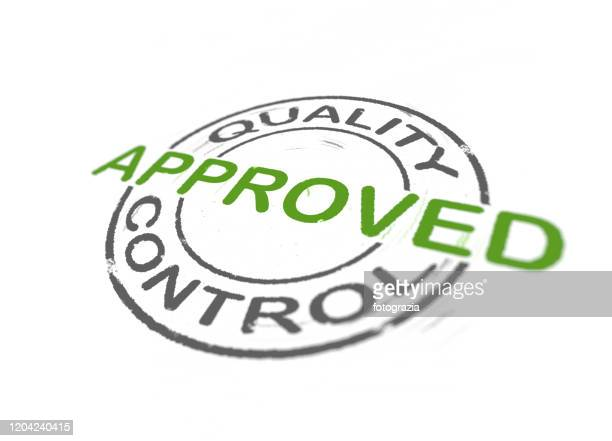 quality control stamp - quality stock pictures, royalty-free photos & images