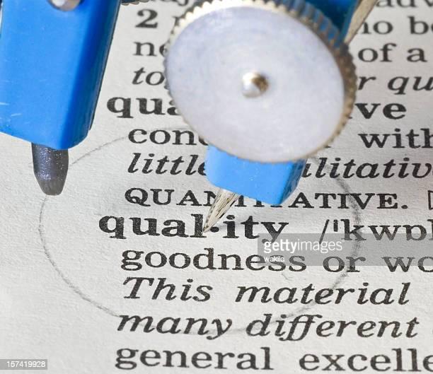 Qualité-cercle définition de Dictionnaire