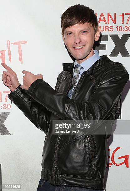 """Qualls attends the FX's New Comedy Series """"Legit"""" Premiere Screening held at the Fox Studio Lot on January 14, 2013 in Century City, California."""