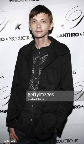 DJ Qualls during Philanthro Productions Debut Event Benefiting the Elizabeth Glaser Pediatric AIDS Foundation Arrivals at Spider Club in Hollywood...