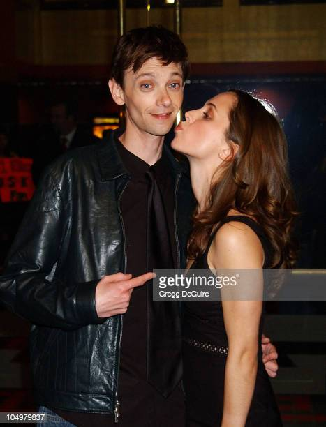 DJ Qualls Eliza Dushku during The New Guy Premiere at Mann Chinese 6 Theatre in Hollywood California United States