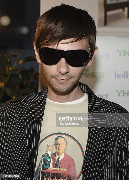 DJ Qualls wearing Giorgio Armani 438/s sunglasses during Solstice Sunglass Boutique and Safilo USA at Movieline's Hollywood Life 9th Annual Young...