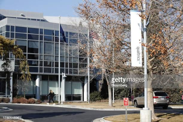 Qualtrics International Inc. Headquarters in Provo, Utah, U.S., on Monday, Jan. 11, 2021. Qualtrics International Inc.Filed for what could be one of...