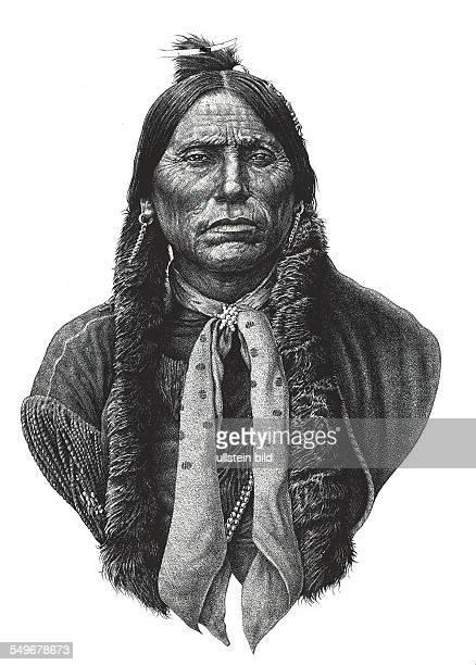 Quanah Parker Chief Quahada Comanche native American American Indian