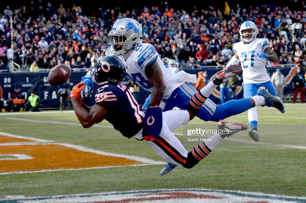 Detroit Lions v Chicago Bears : Fotografia de notícias