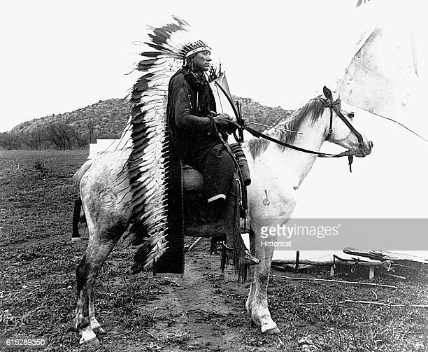 Quannah Parker became chief of the Comanche Indians in 1867 and until 1875 led raids on frontier settlements A shrewd businessman he was believed at...