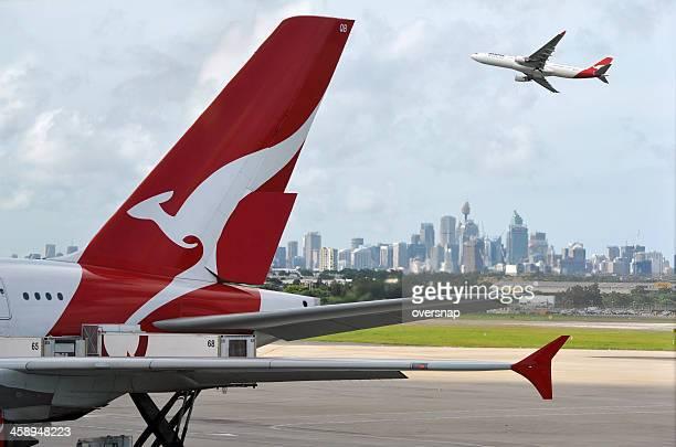 Quantas and Sydney Airport