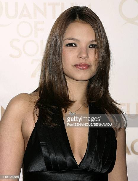 Quantum of Solace Premiere in Paris France on October 30 2008 Severine Ferrer