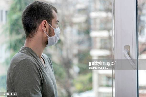 quarantine due to covid-19, don't leave the house - trapped stock pictures, royalty-free photos & images