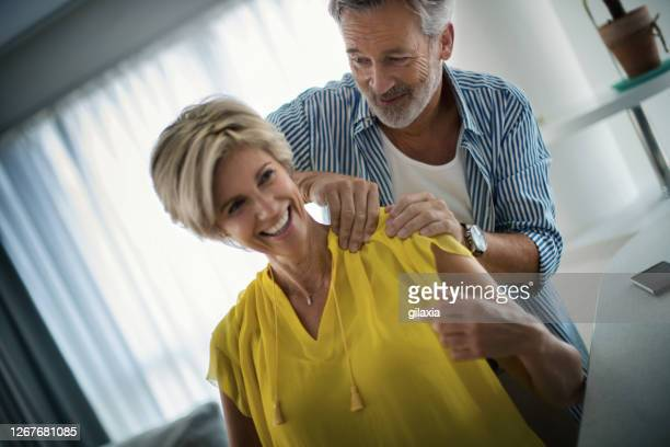 quarantine helps people reconnect - massage funny stock pictures, royalty-free photos & images