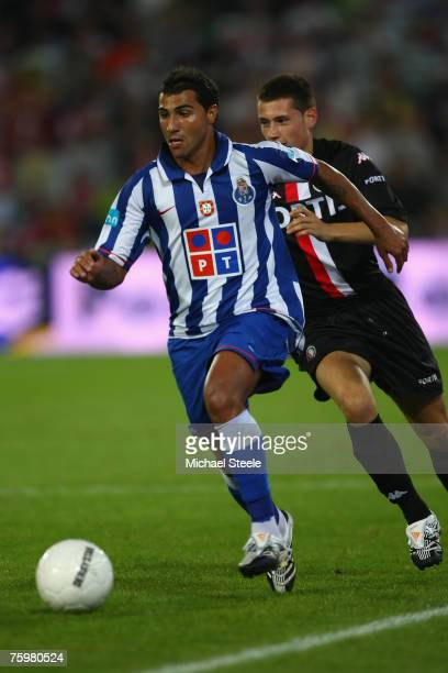 Quaresma of Porto during the Port of Rotterdam Tournament match between Feyenoord and FC Porto at the De Kuip Stadium on August 32007 in...