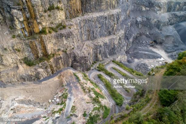 Quarry, Lake Thun, Switzerland, Europe