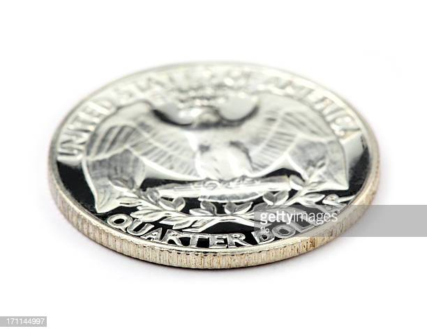 us quarter - us coin stock pictures, royalty-free photos & images