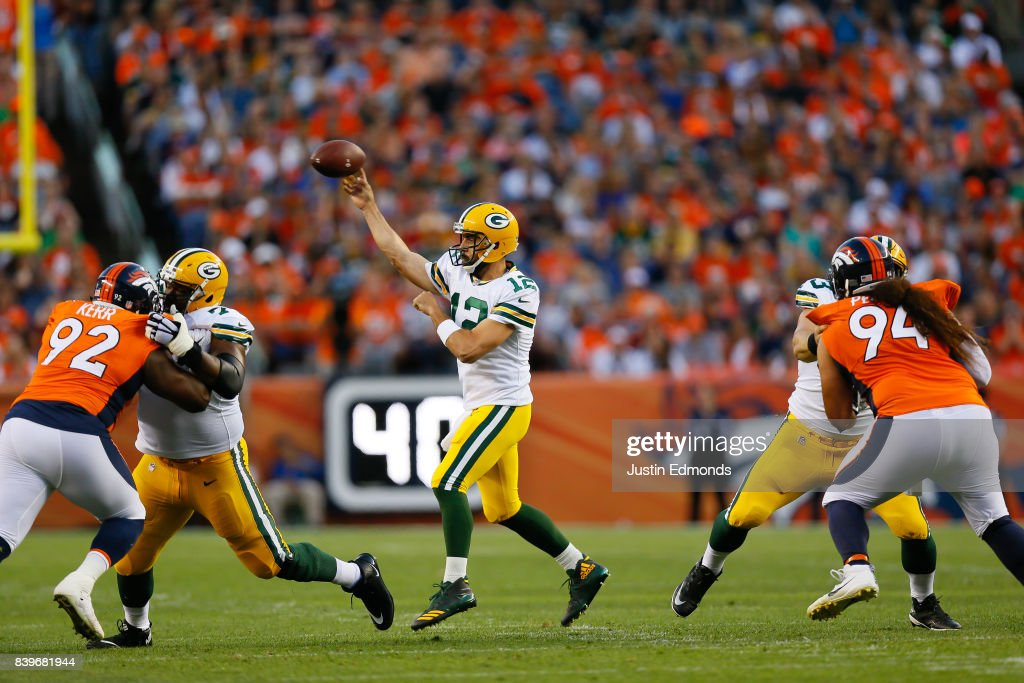 Green Bay Packers v Denver Broncos : News Photo