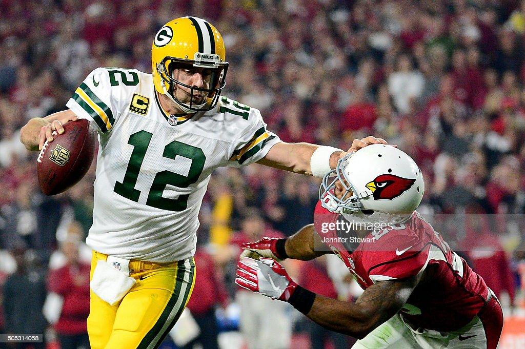 Divisional Round - Green Bay Packers v Arizona Cardinals : Foto jornalística