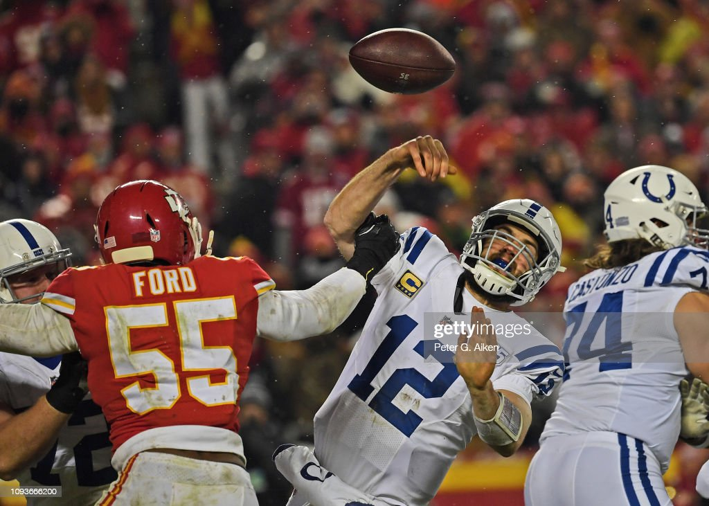 Divisional Round - Indianapolis Colts v Kansas City Chiefs : News Photo