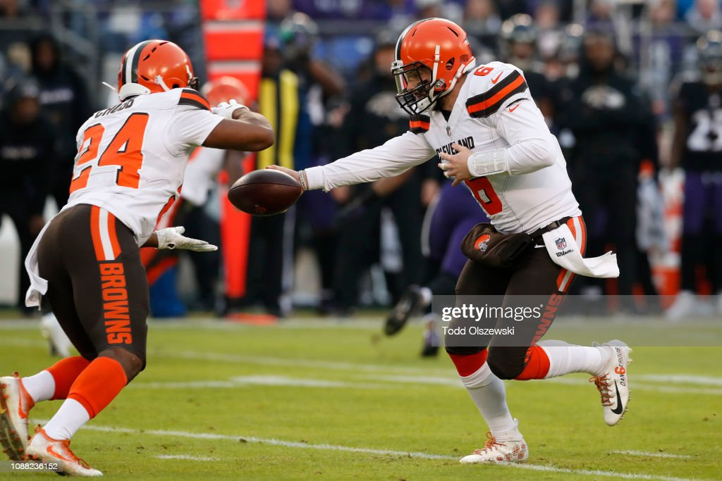Cleveland Browns v Baltimore Ravens : News Photo