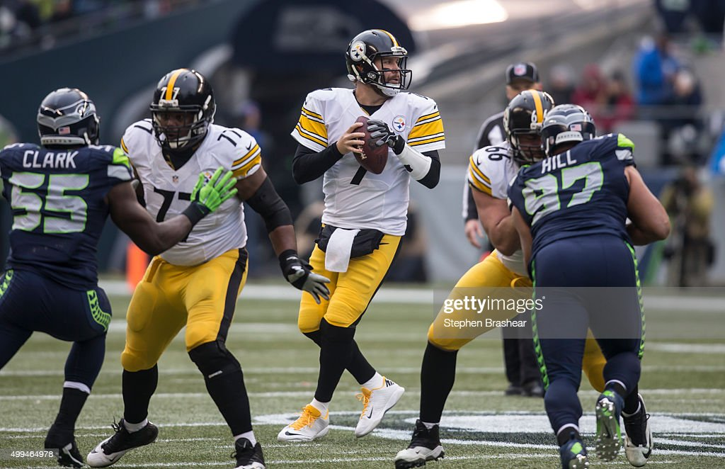 Pittsburgh Steelers v Seattle Seahawks : News Photo