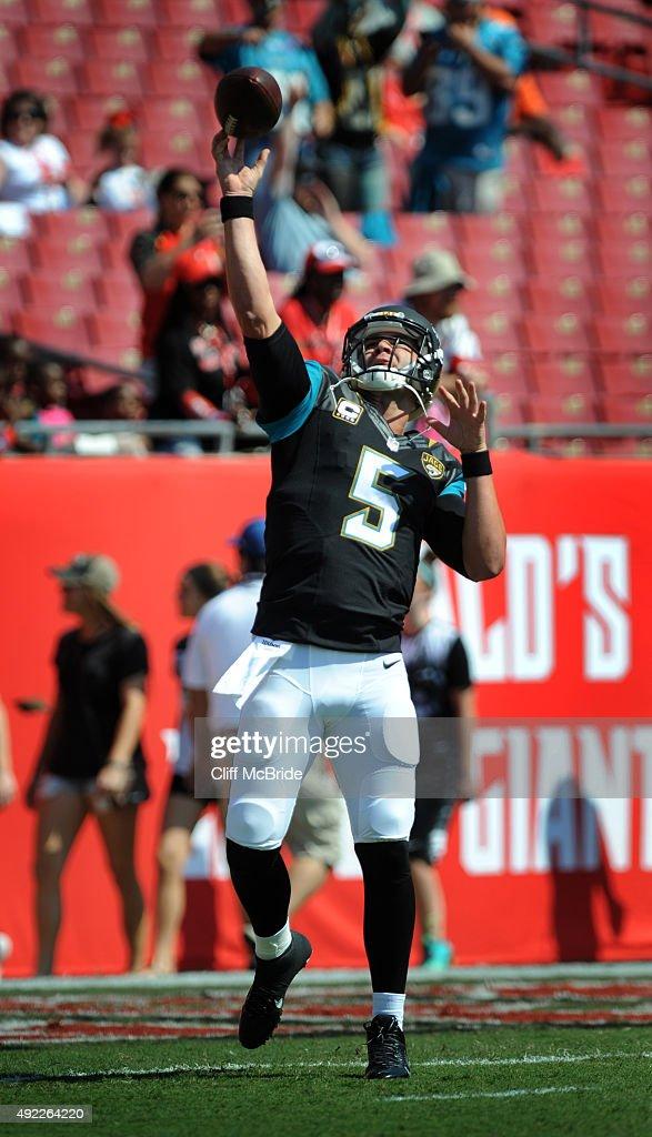 Jacksonville Jaguars v Tampa Bay Buccaneers : News Photo