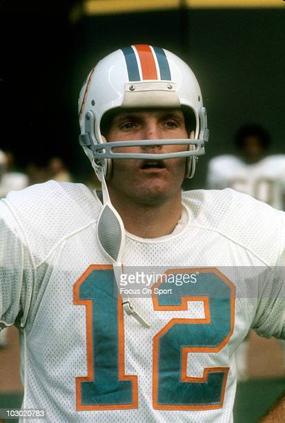 Quarterback Bob Griese of the Miami Dolphins in this portrait circa 1972  before the start of 129b608fcca