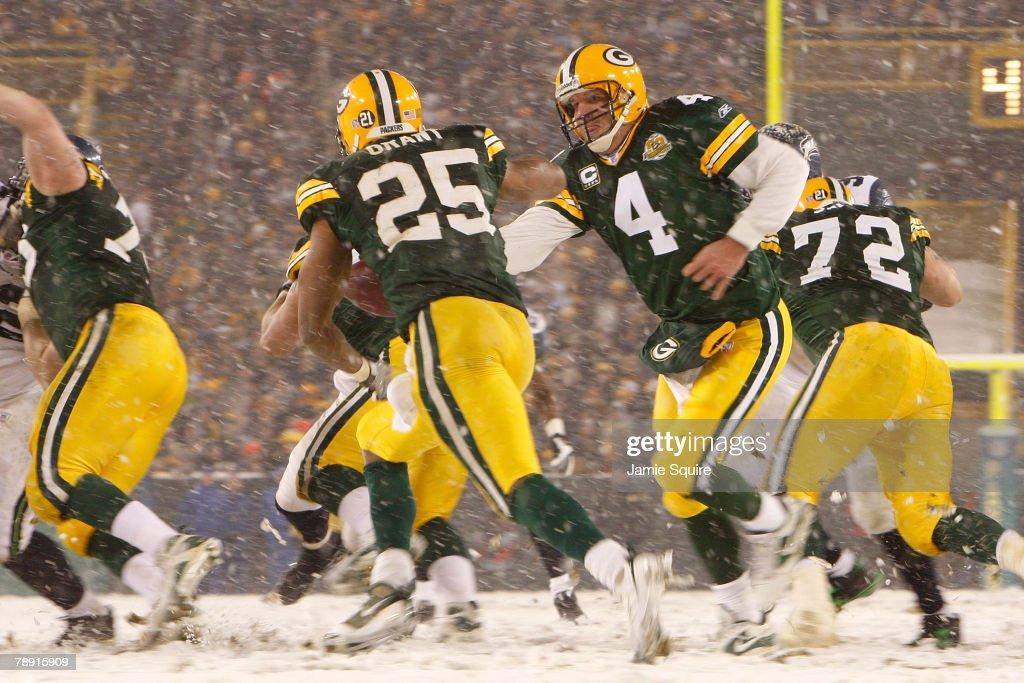 Seattle Seahawks v Green Bay Packers : Foto jornalística