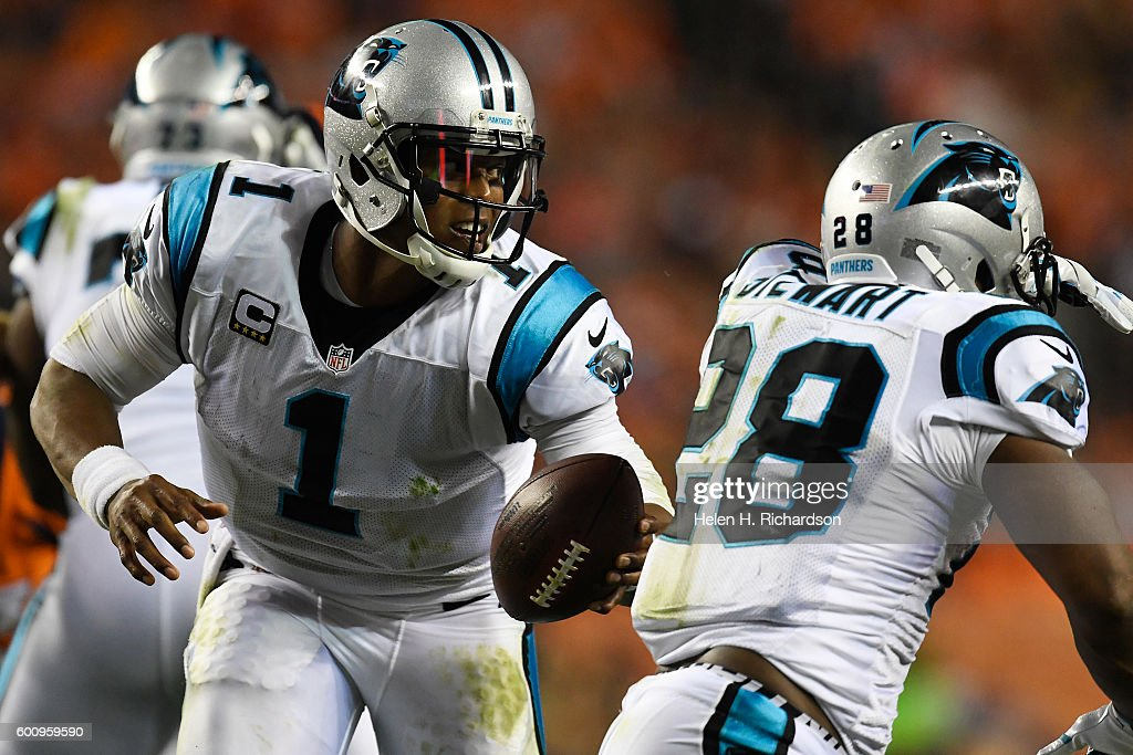 Denver Broncos vs. Carolina Panthers, NFL Week 1 : News Photo