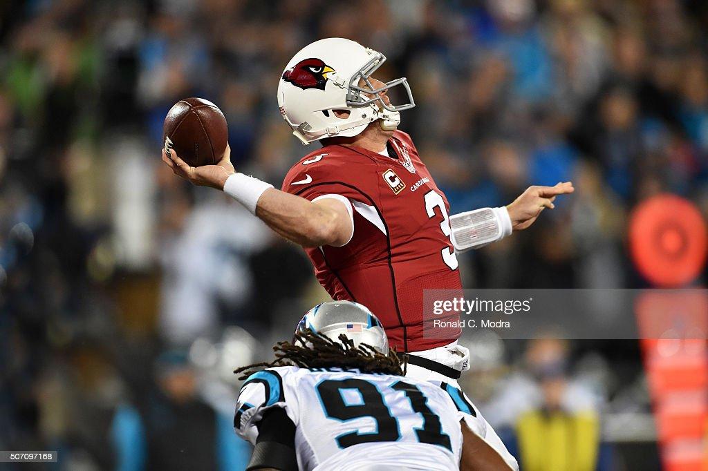 NFC Championship - Arizona Cardinals v Carolins Panthers : News Photo