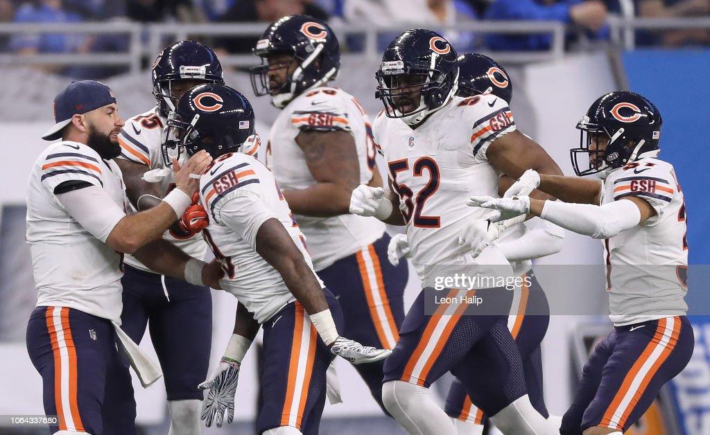 Chicago Bears v Detroit Lions : Nachrichtenfoto