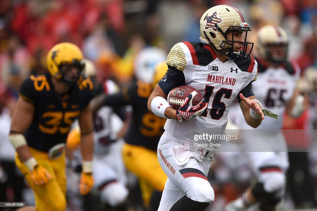West Virginia v Maryland : News Photo