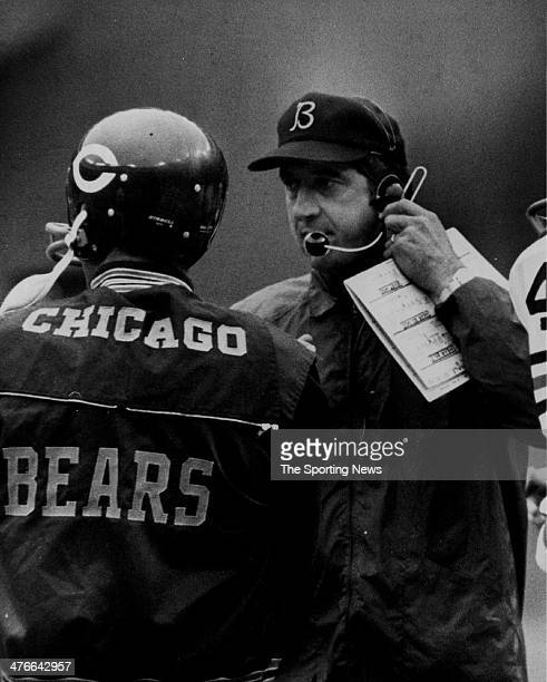Quarterback coach Zeke Bratkowski of the Chicago Bears circa 1972 in Chicago Illinois