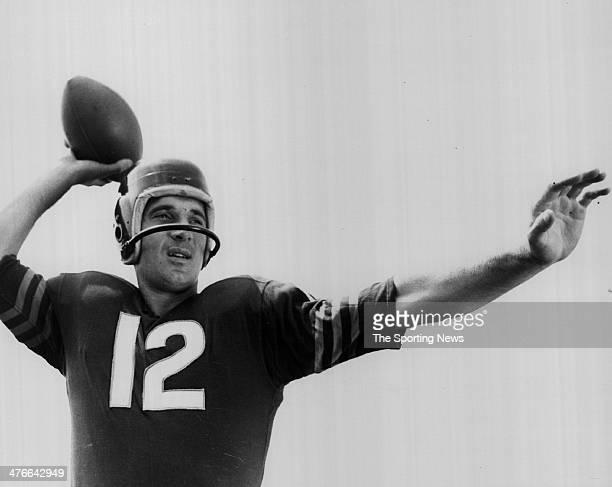 Quarterback coach Zeke Bratkowski of the Green Bay Packers circa 1958 in Chicago Illinois
