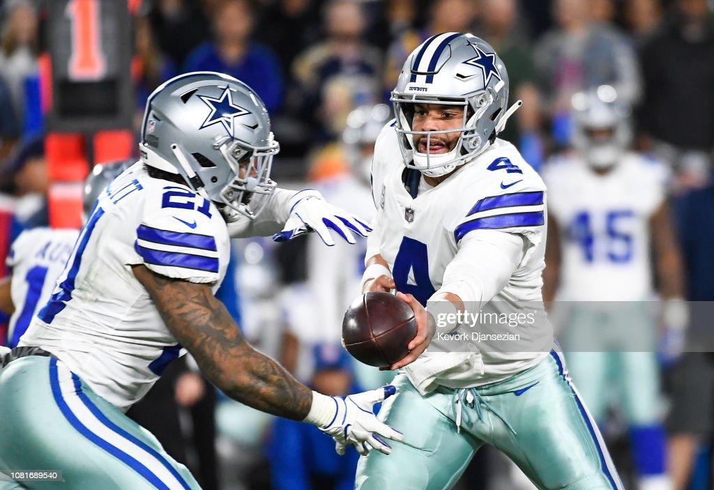 Divisional Round - Dallas Cowboys v Los Angeles Rams : News Photo