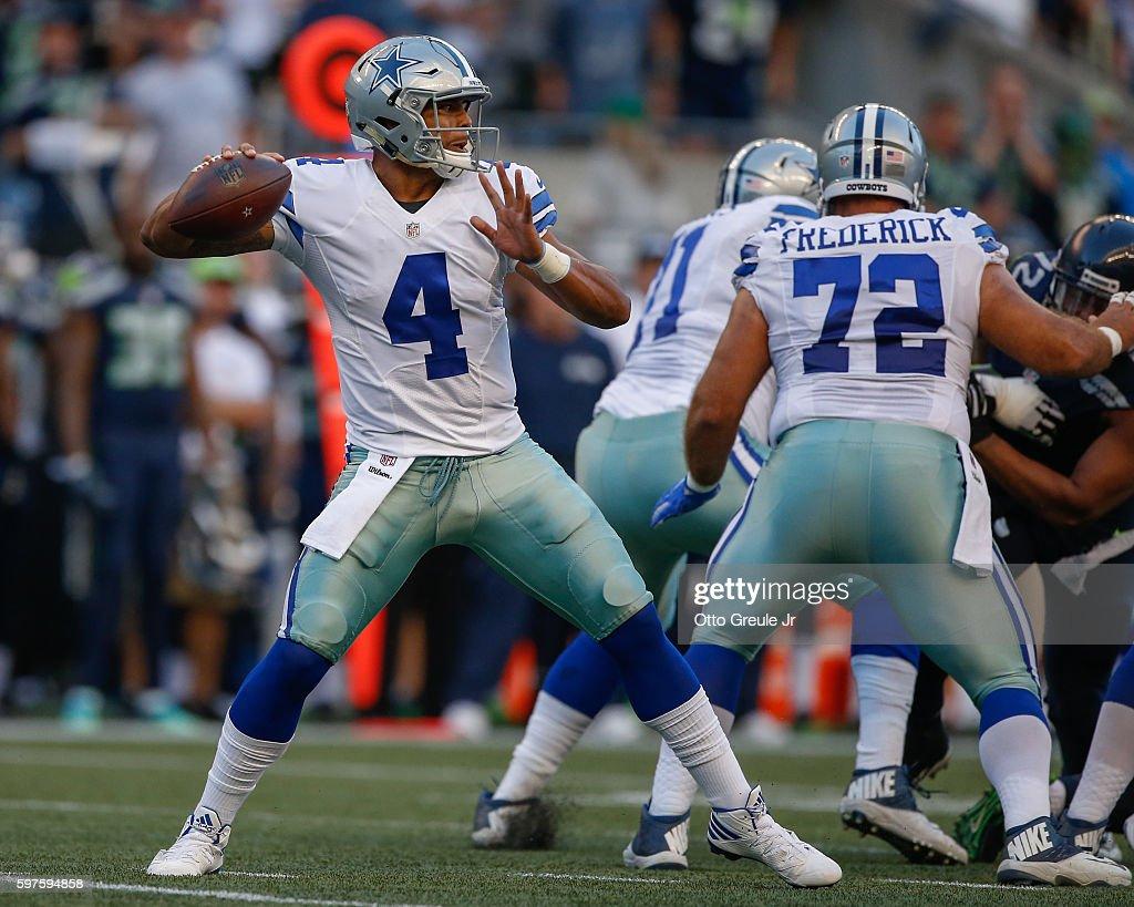 Dallas Cowboys v Seattle Seahawks : News Photo