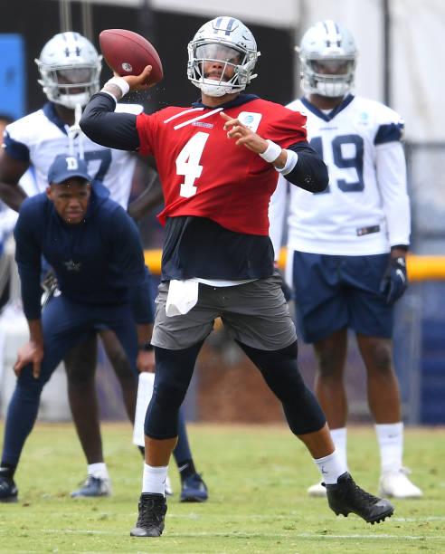 CA: Dallas Cowboys Training Camp