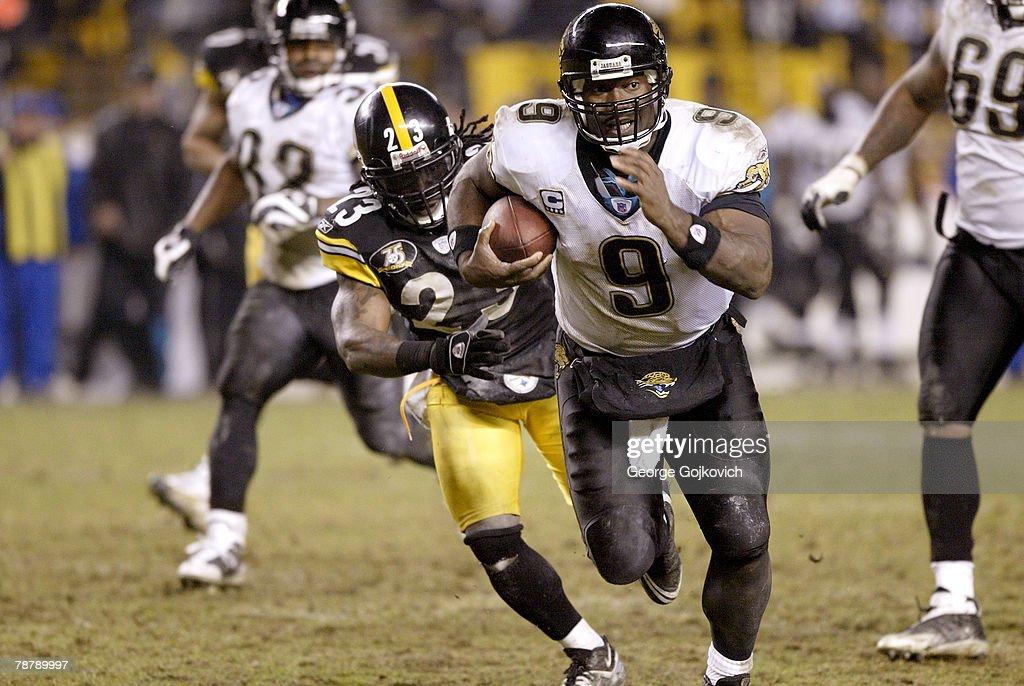 AFC Wild Card Game: Jacksonville Jaguars v Pittsburgh Steelers : News Photo
