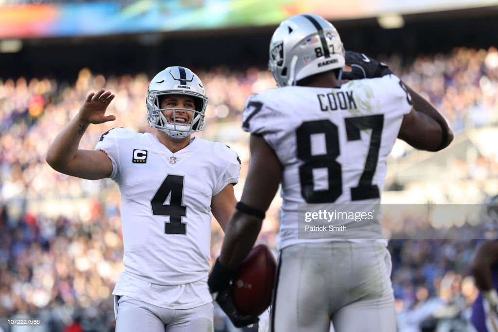 Oakland Raiders v Baltimore Ravens : News Photo