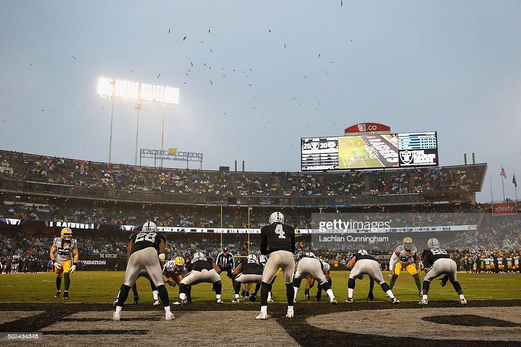 Green Bay Packers v Oakland Raiders : ニュース写真