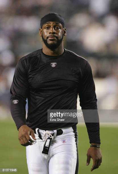 Quarterback Donovan McNabb of Philadelphia Eagles walks on the field before the NFL game against the Minnesota Vikings at Lincoln Financial Field on...