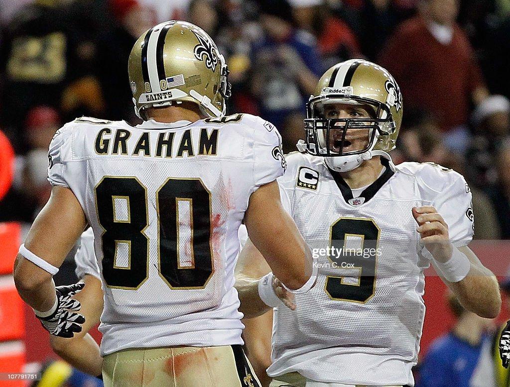 New Orleans Saints v Atlanta Falcons : Foto jornalística
