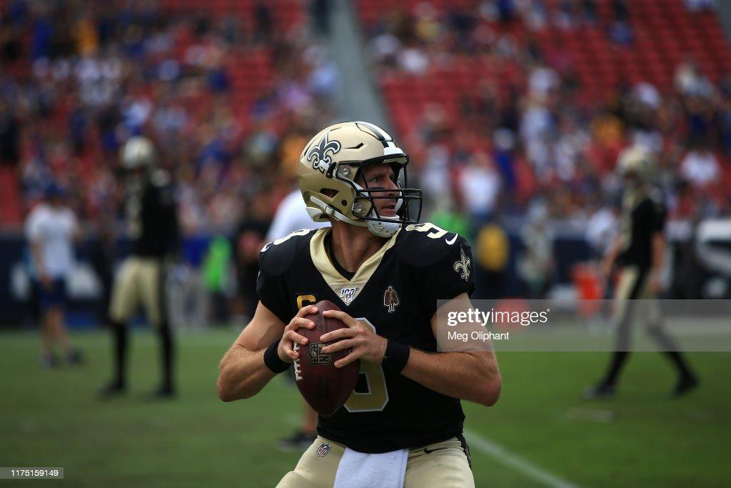 New Orleans Saints vLos Angeles Rams : News Photo